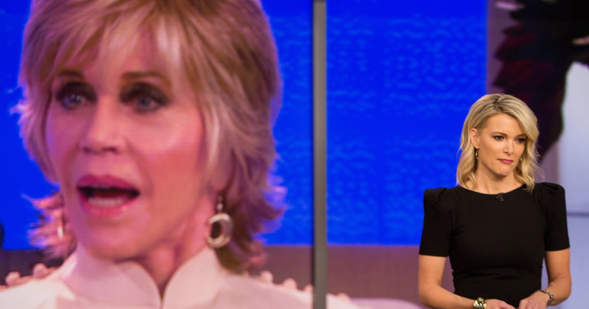 Megyn Kelly slams Jane Fonda's 'poor-me routine'