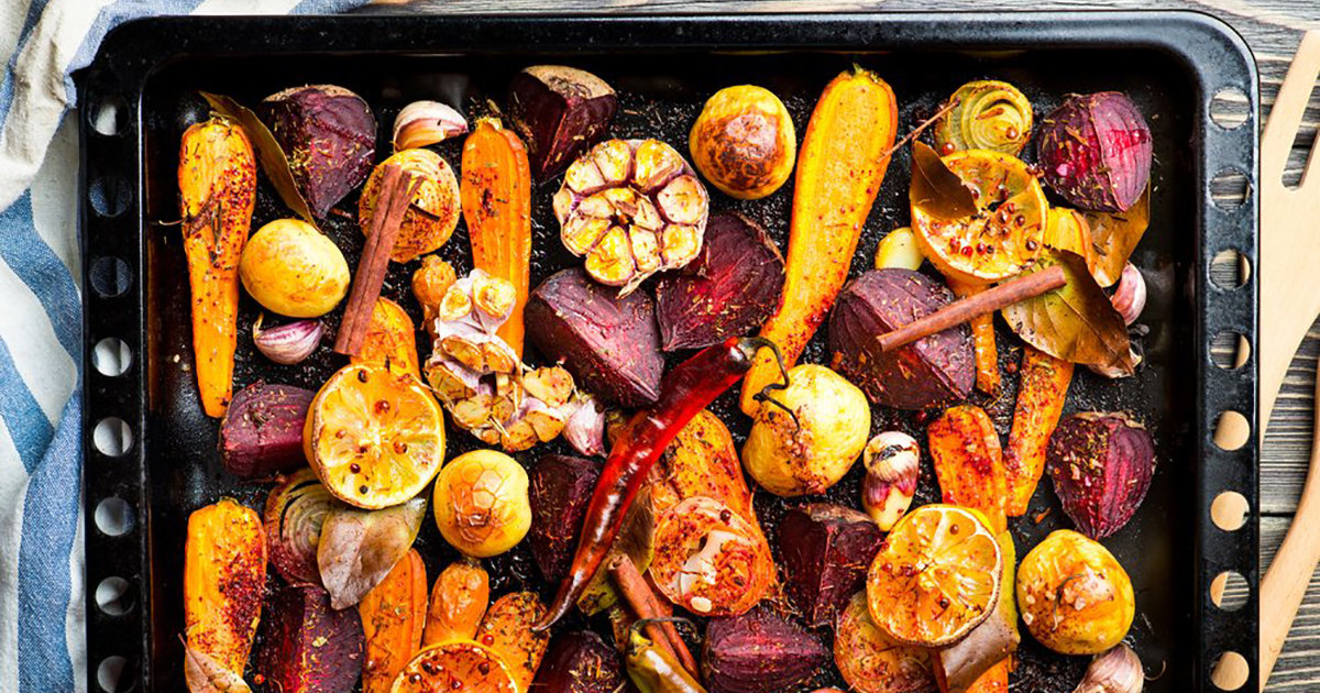A 10 Step Guide To Perfectly Roasted Vegetables