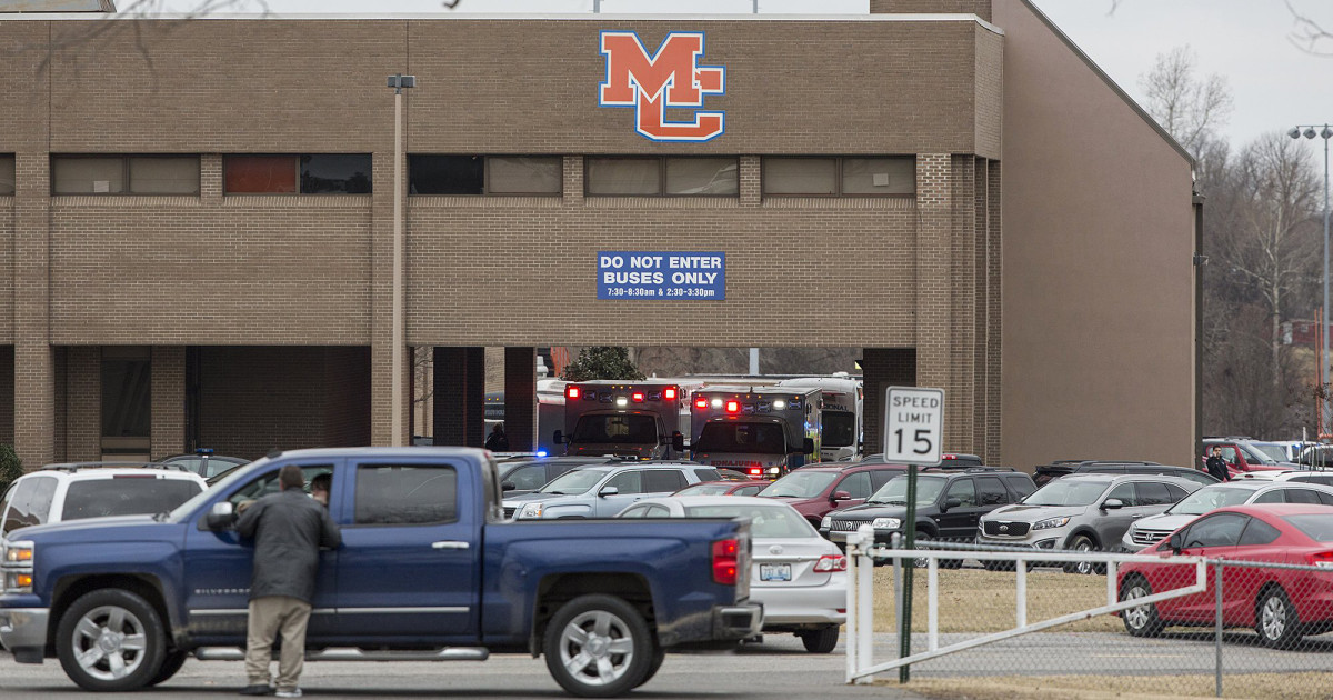 Kentucky School Shooting Two Dead After Attack At Marshall County