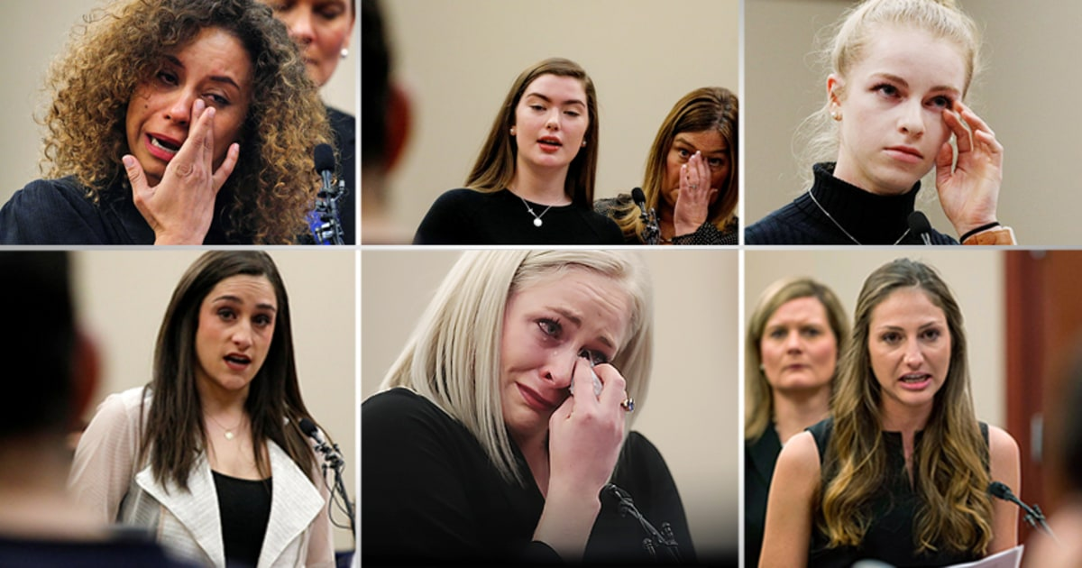 'Army of women' fights gymnastics doctor Larry Nassar with ...