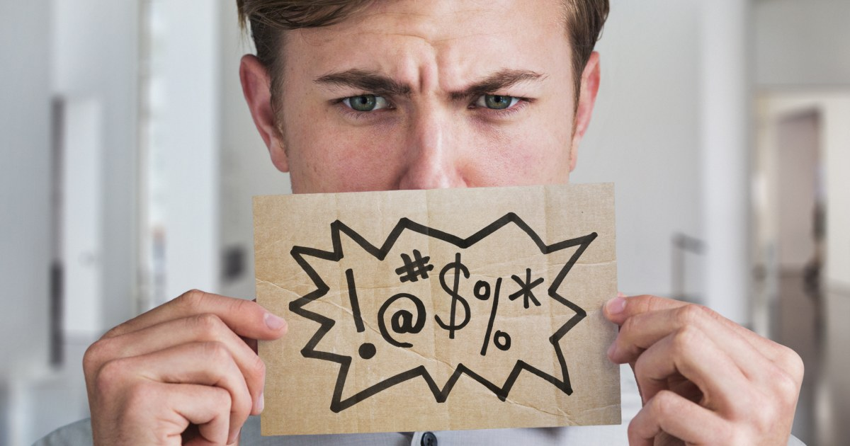 Cursing can be good for your health - here's when to let that four-letter word slip