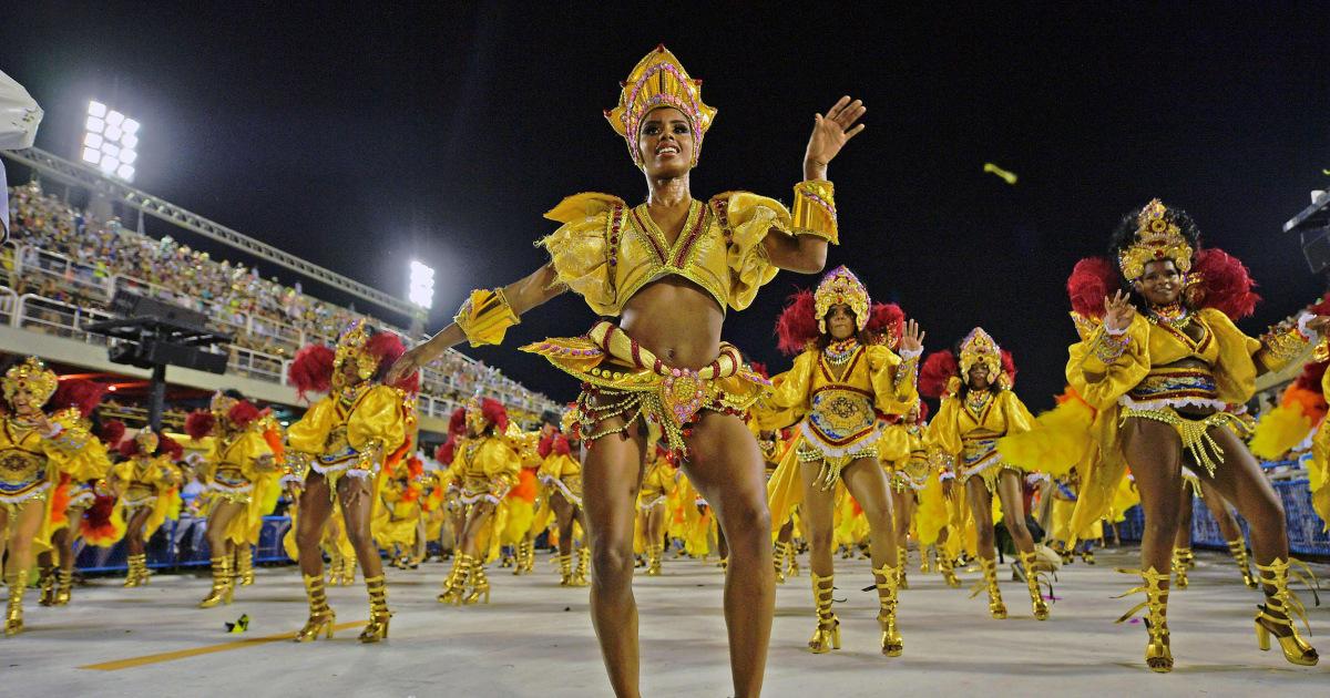 Spirit of Samba: Carnival sets Rio alight as dancers take to the Sambadrome