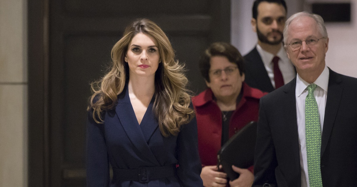 HOPE HICKS HACKED