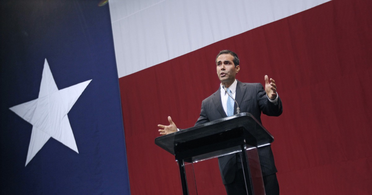 George P. Bush learns a valuable lesson about the Trumpified GOP