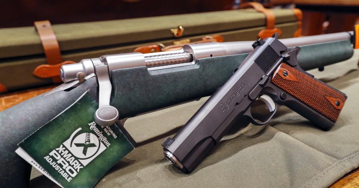 Gun-maker Remington files for bankruptcy
