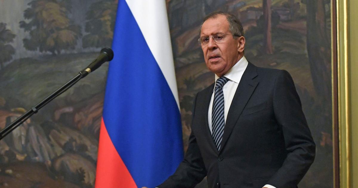 Trump treffen mit dem Russischen Außenminister im Weißen Haus am Dienstag