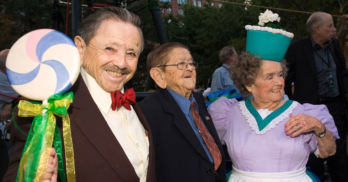 Last Surviving Wizard Of Oz Munchkin Jerry Maren Dies
