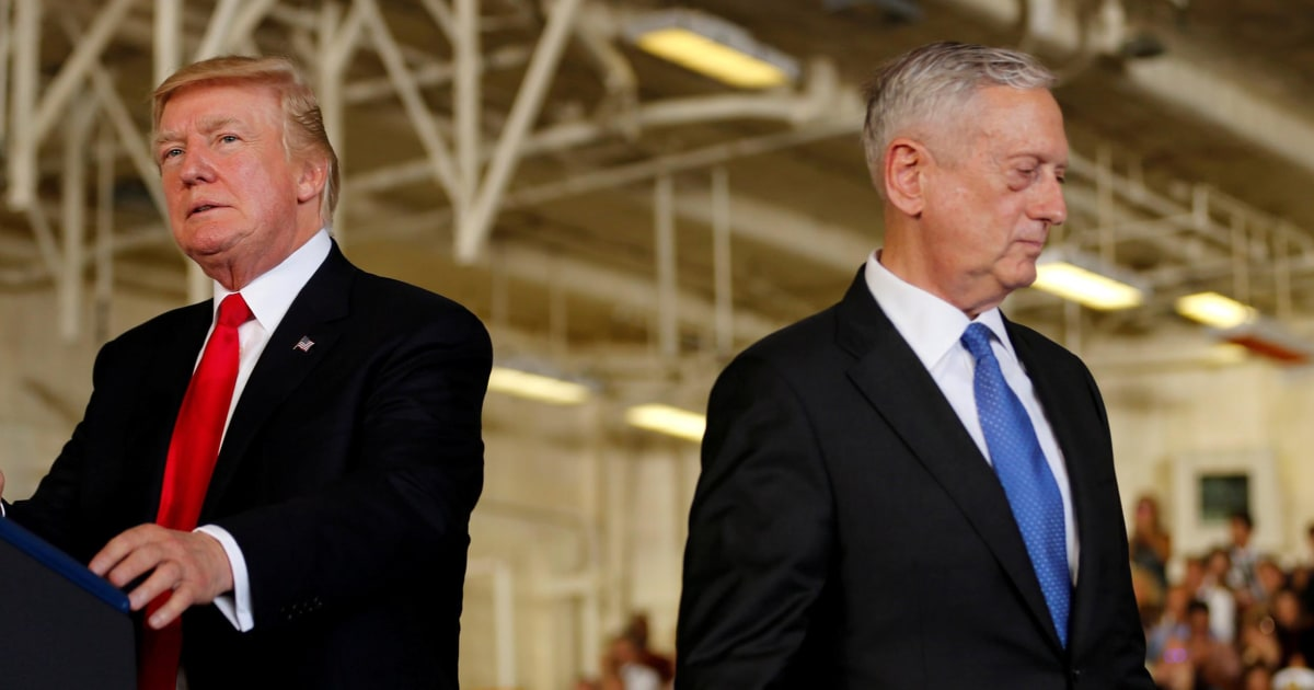 Trump doesn't listen to Mattis anymore, say officials