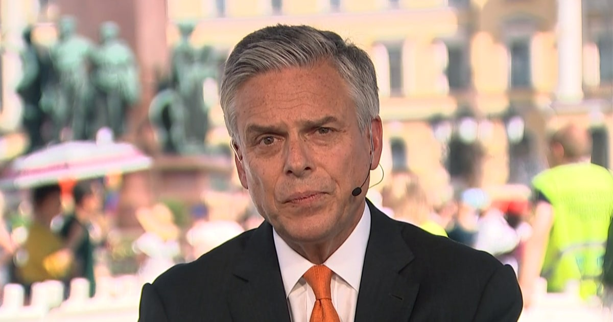 Amb. Huntsman: Trump-Putin meeting will be a 'conversation,' not a 'summit'
