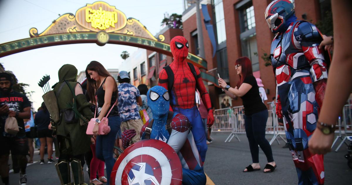 Comic Con Marvel