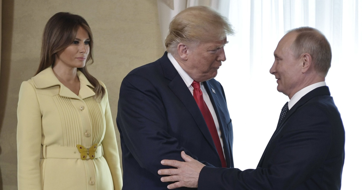 Trump says he is weighing Putin invitation to Russia parade