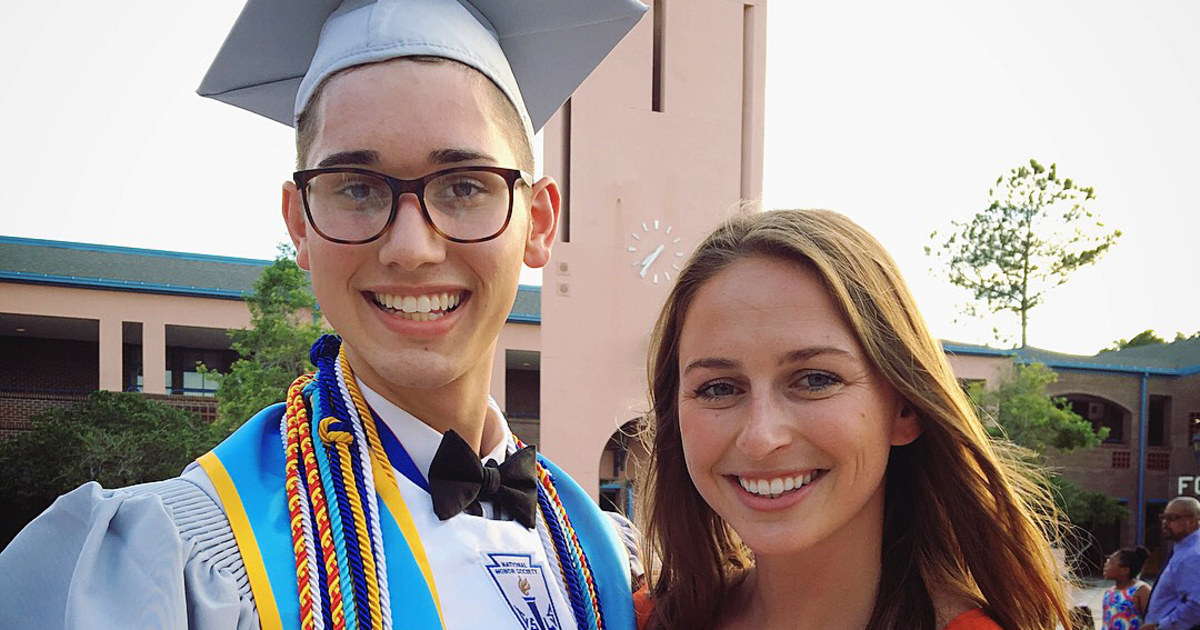 Rejected by parents, gay valedictorian is going to college, with $50K from  donors