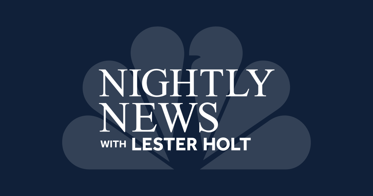 Nightly News with Lester Holt: The Latest News Stories ...