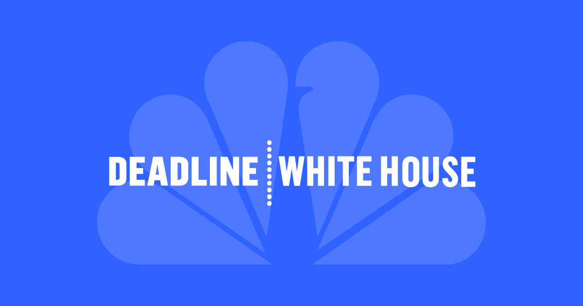 Deadline White House On Msnbc Nbc News
