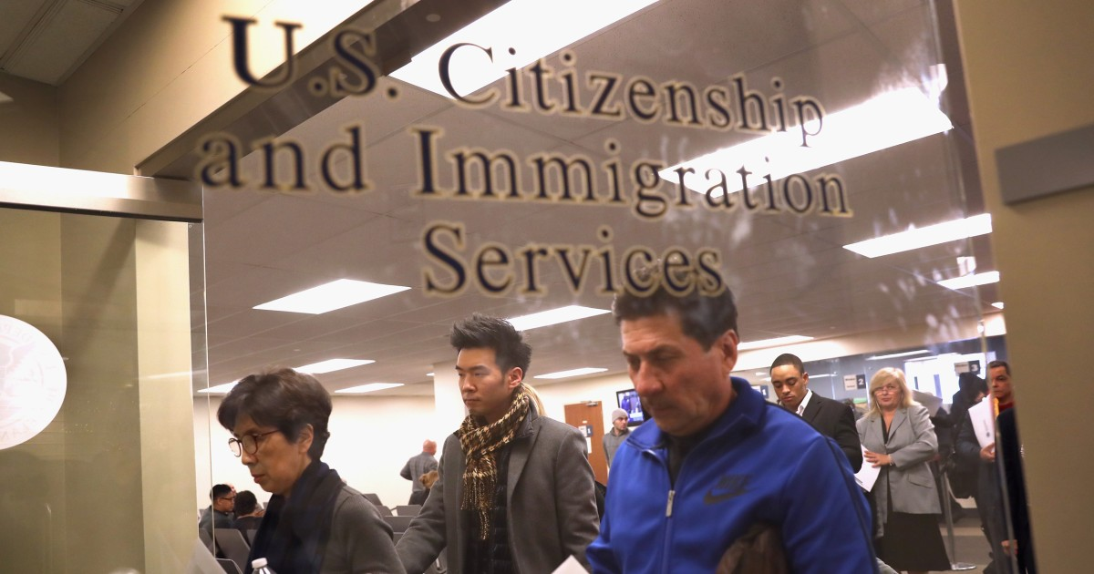 U S  citizens applying for green cards for noncitizen