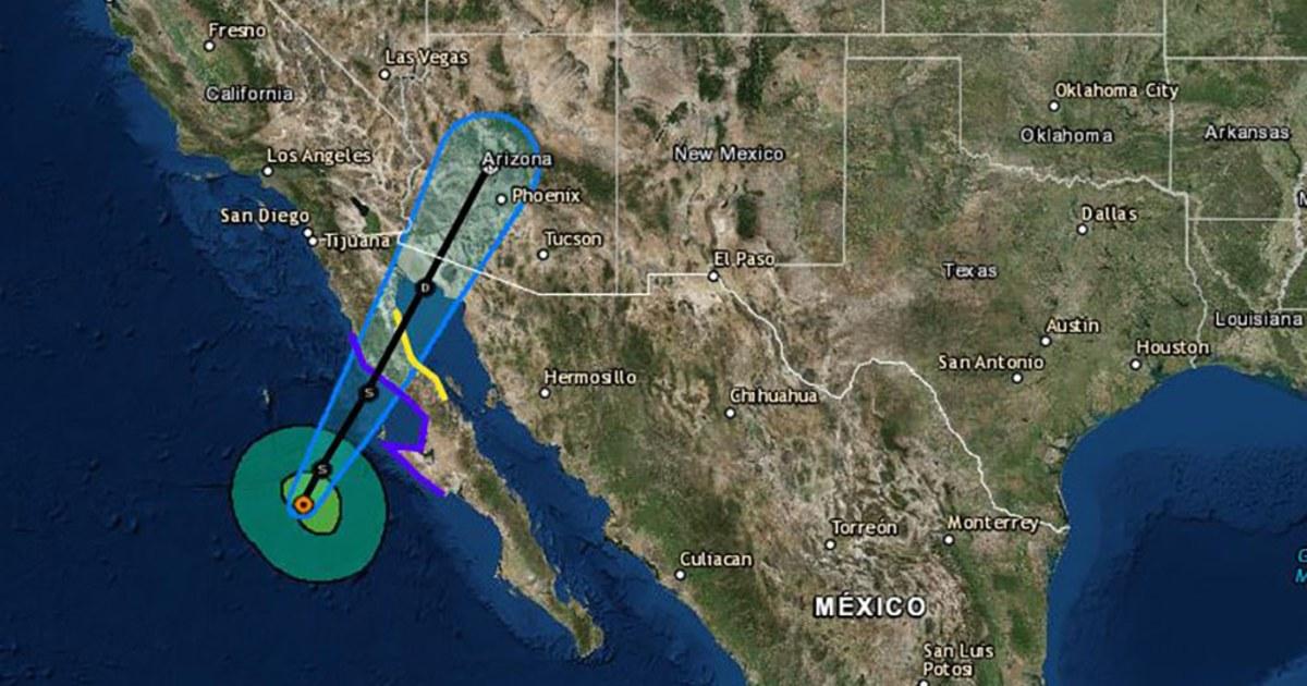 Rosa weakens but Nevada, Utah, Arizona, California face flooding
