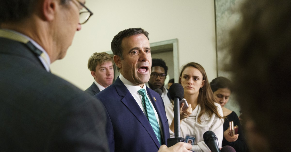 Ratcliffe, Gowdy join list of potential attorney general picks