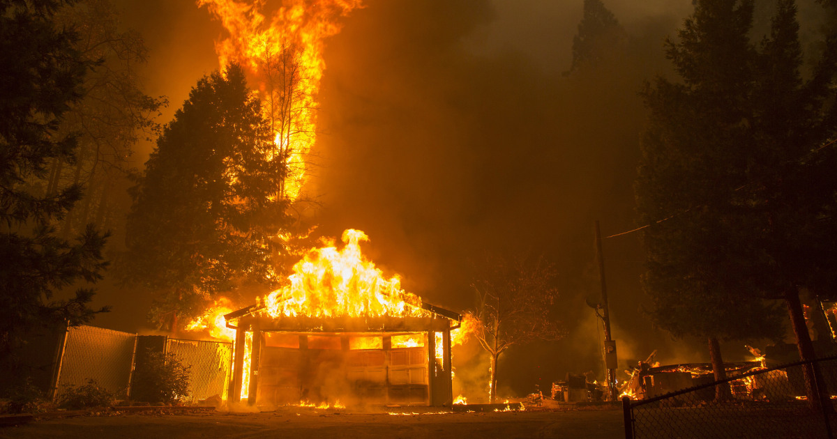 Car Rental Chico Ca: Paradise, California, Lost In Deadly Camp Wildfire