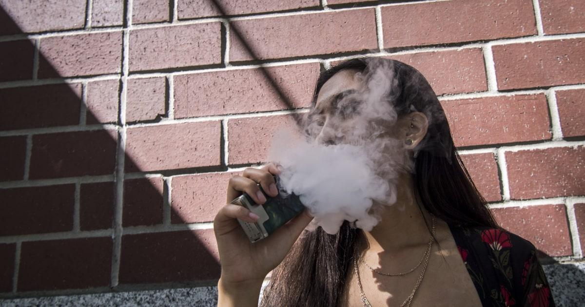 Fda Moves To Ban Shock Devices Used On >> Fda Restricts All Flavored E Cigarettes Moves To Ban Menthol
