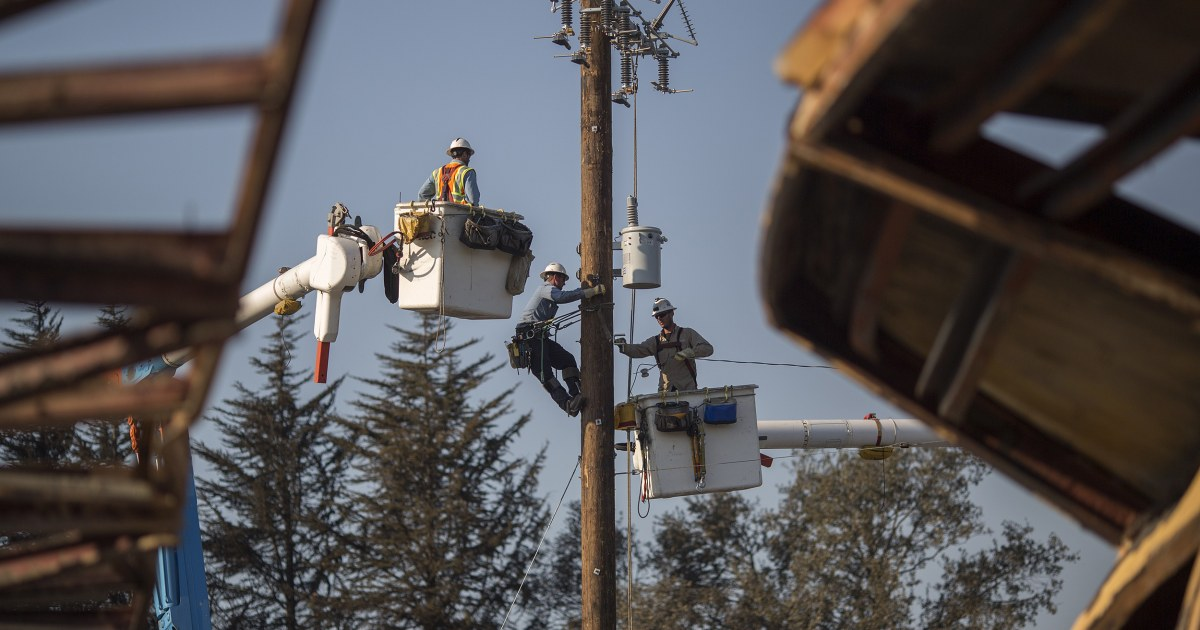 Eyed In California Fires Pacific Gas Amp Electric Utility
