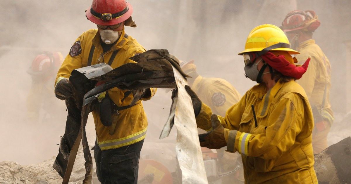 Death toll in Northern California wildfire climbs to 48, as