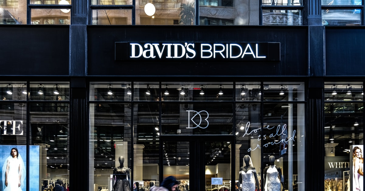 e576ba8d6eb David s Bridal files for bankruptcy