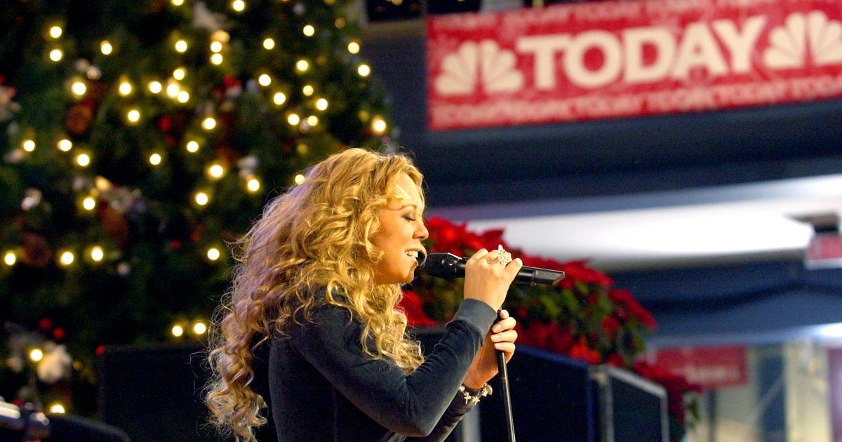 Mariah Carey 'All I Want For Christmas Is You' adalah Nomor 1 setelah 25 tahun