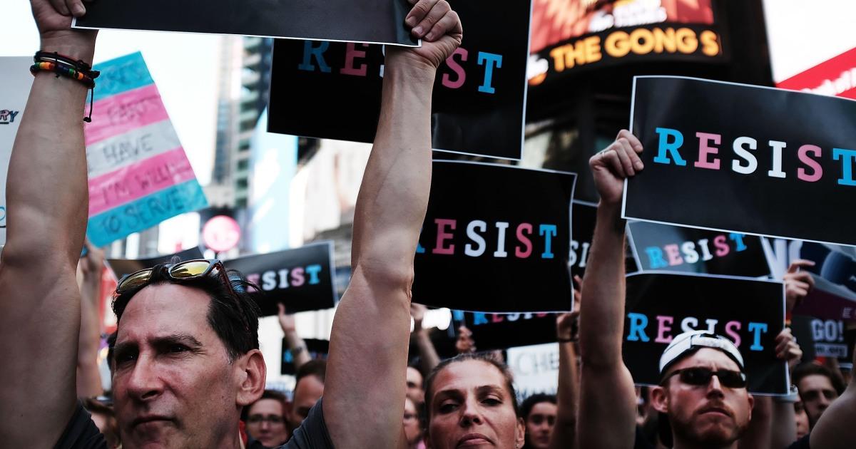 Biden to reverse transgender military ban imminently, White House says