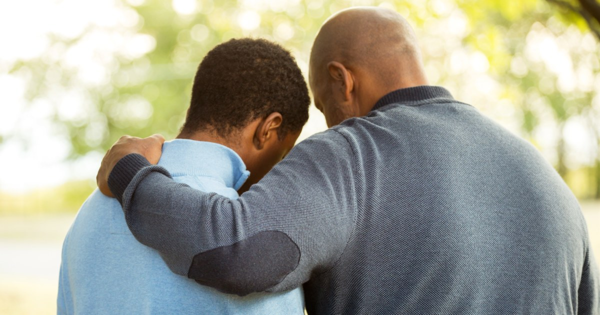 For Black And Latino Fathers, Talking To Sons About Sex Is -7912