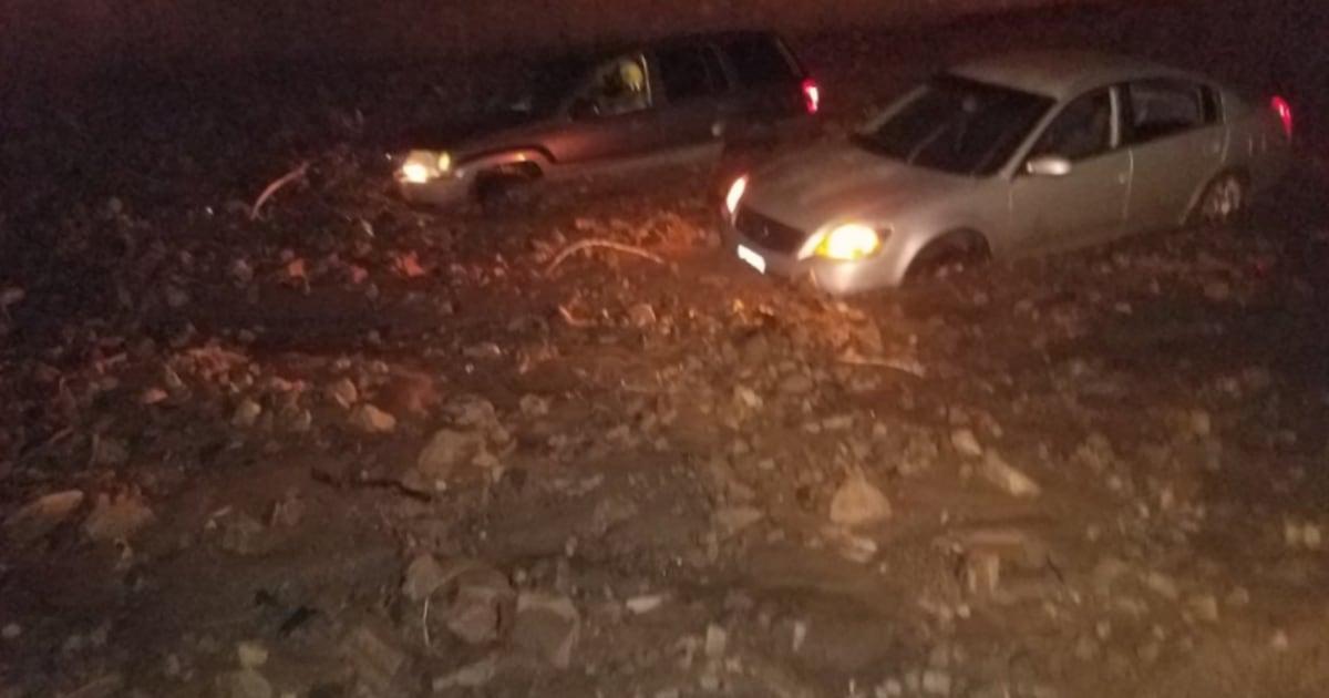 Mudslides shut down Pacific Coast Highway in Malibu