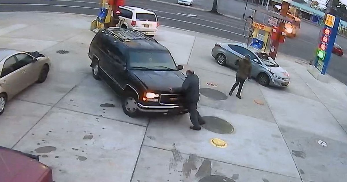 Gas station attendant killed trying to stop man from driving