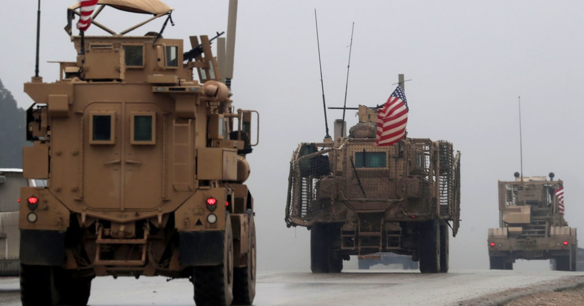 U.S. service members wounded in Syria explosion