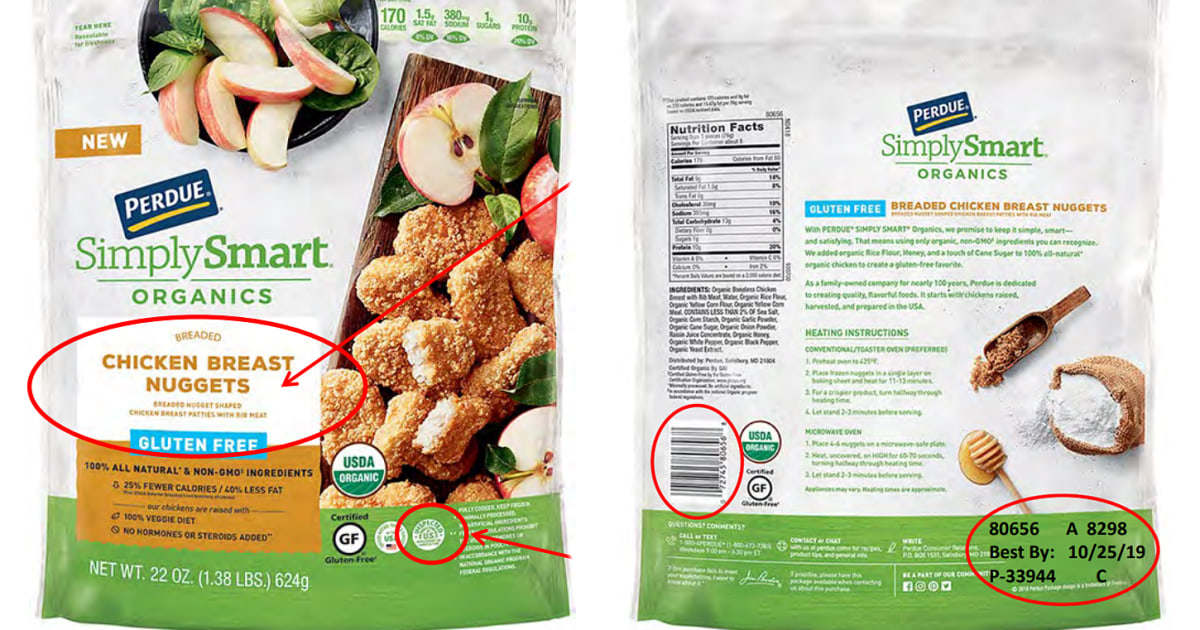 Wood found in Perdue gluten-free chicken nuggets leads to ...