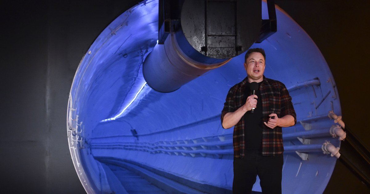 In Las Vegas, Elon Musk's tunneling company digs in