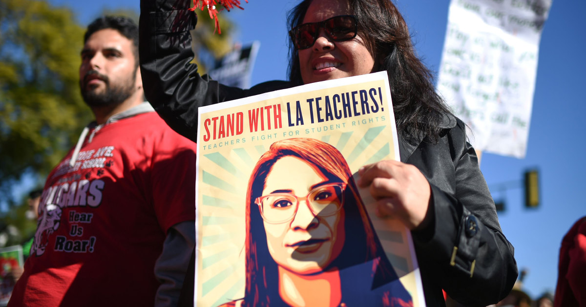 Los Angeles teachers strike to go into second week even if agreement reached, union says
