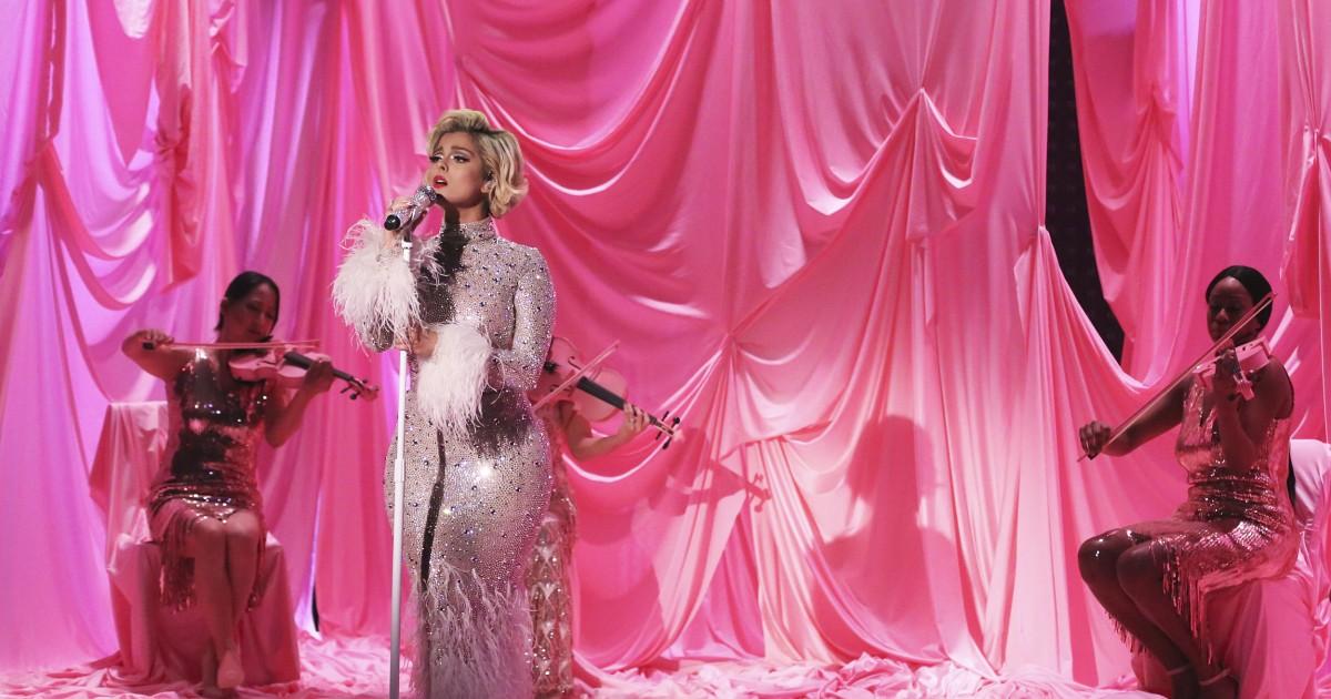 Bebe Rexha says designers said she's 'too big' to make Grammys dress for - NBC News thumbnail