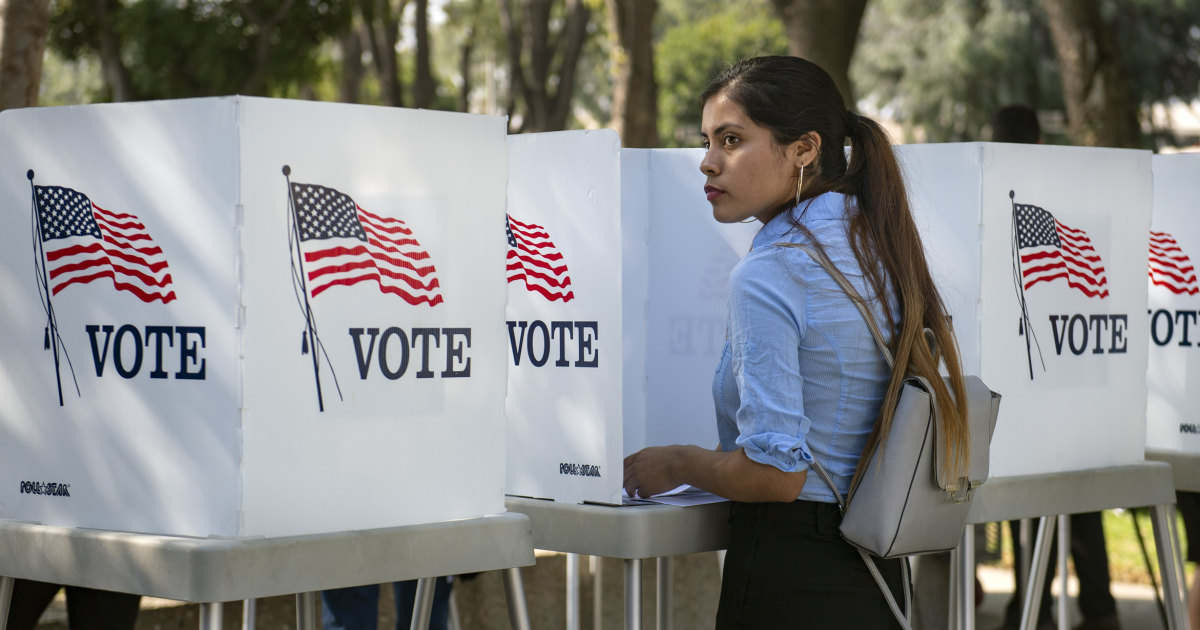 Latinos On Track To Be Largest Share Of Nonwhite Voters In