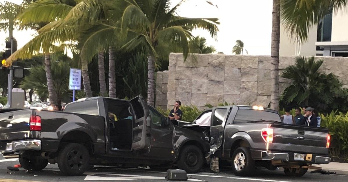 3 pedestrians dead, 4 injured in Honolulu when truck driver
