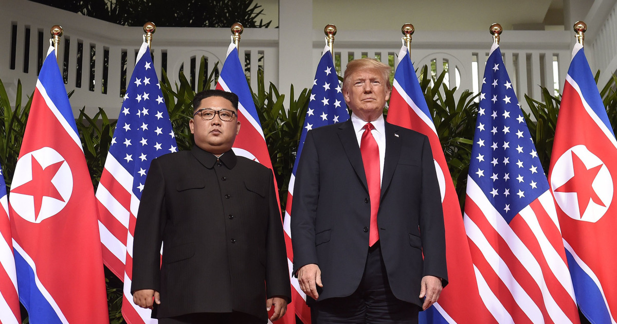 Trump says second summit with North Korea's Kim will be in Hanoi