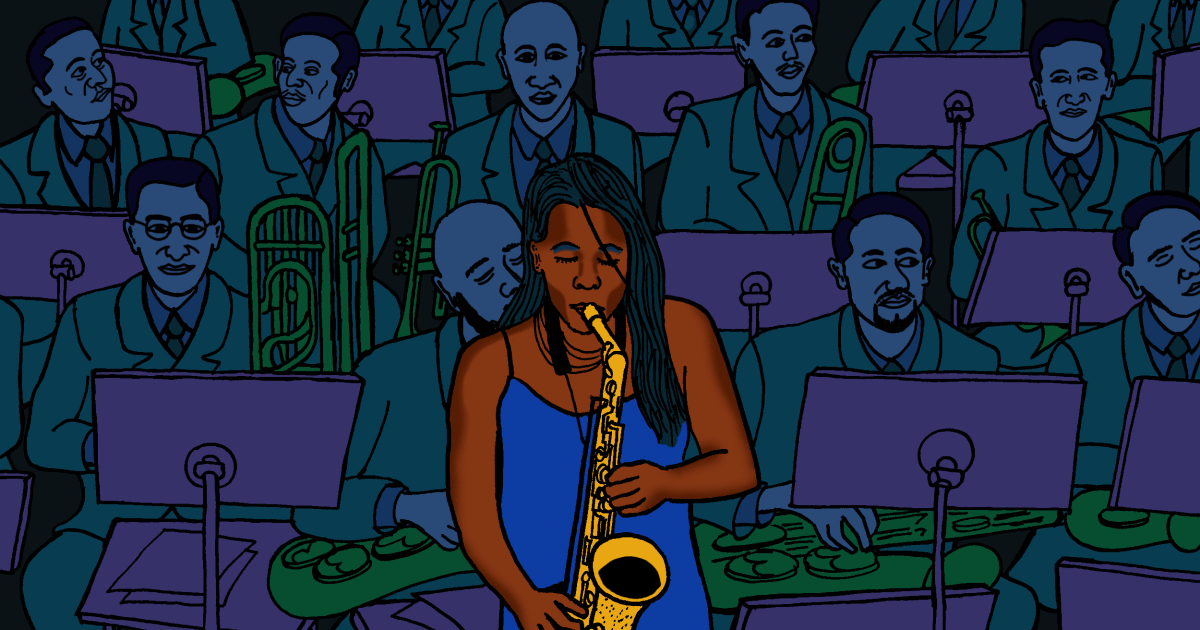 Opinion | Tia Fuller: Jazz has a sexism problem. I'm using my saxophone (and Grammy nod) to fight back.