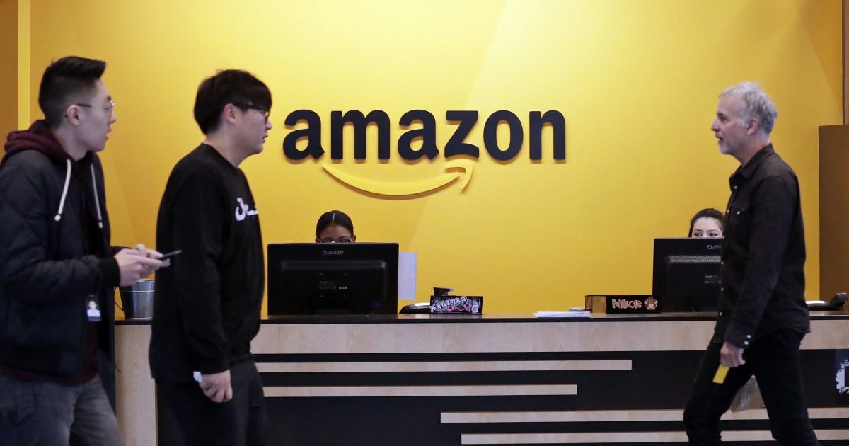Amazon pekerja protes usulan untuk meningkatkan bar untuk resolusi pemegang saham