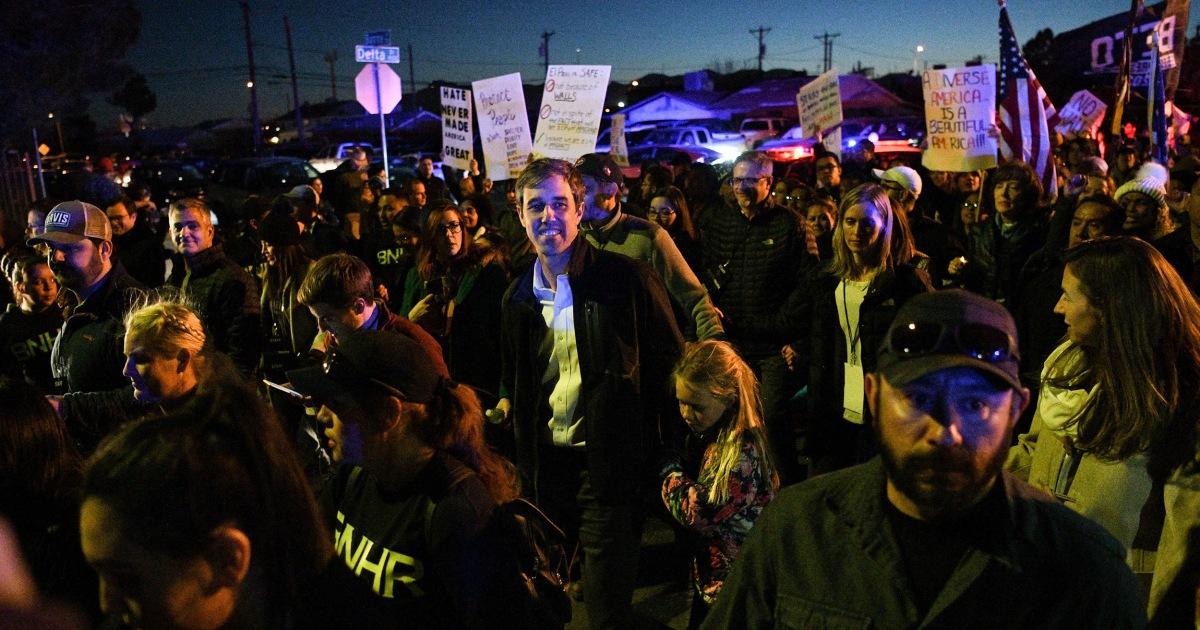 Beto O'Rourke gets under Trump's skin in El Paso