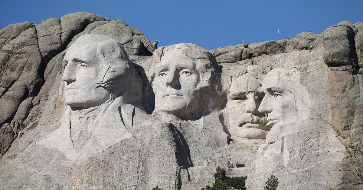 Trump visit to Mount Rushmore to be greeted by protests wildfire fears – NBC News