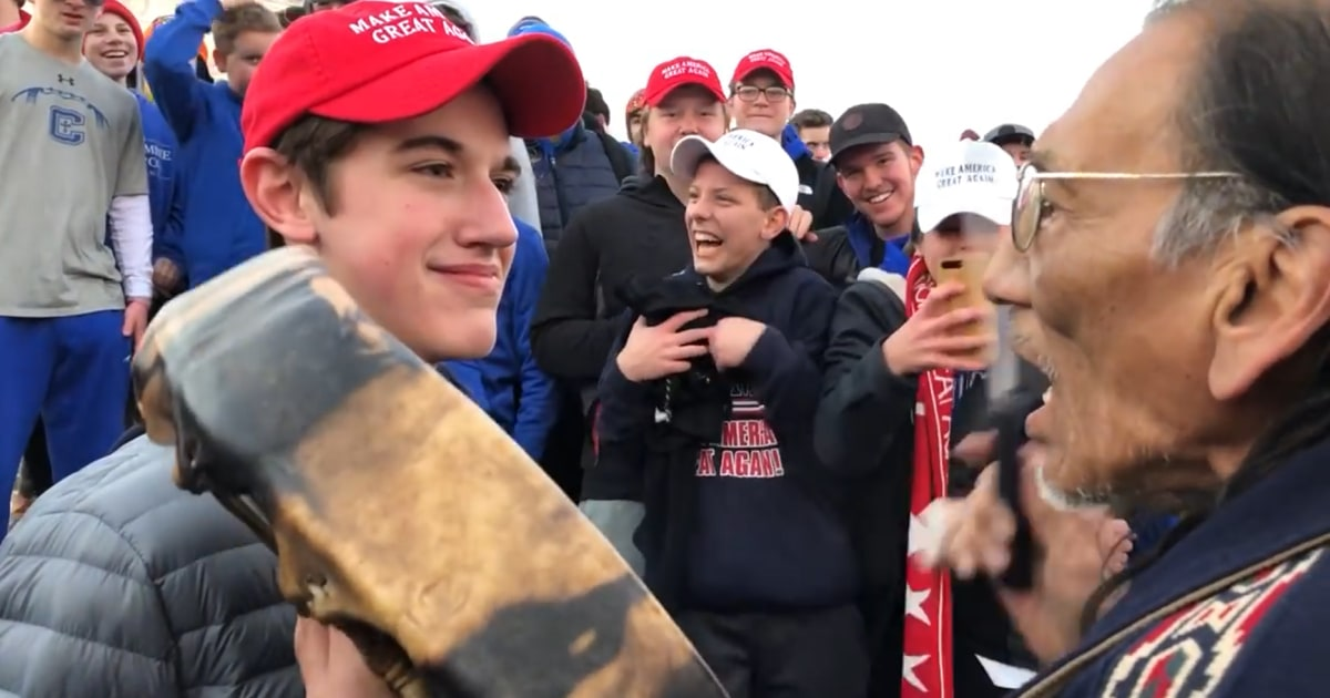 Catholic school to investigate taunting of Native Americans 5f07d2b6cc23