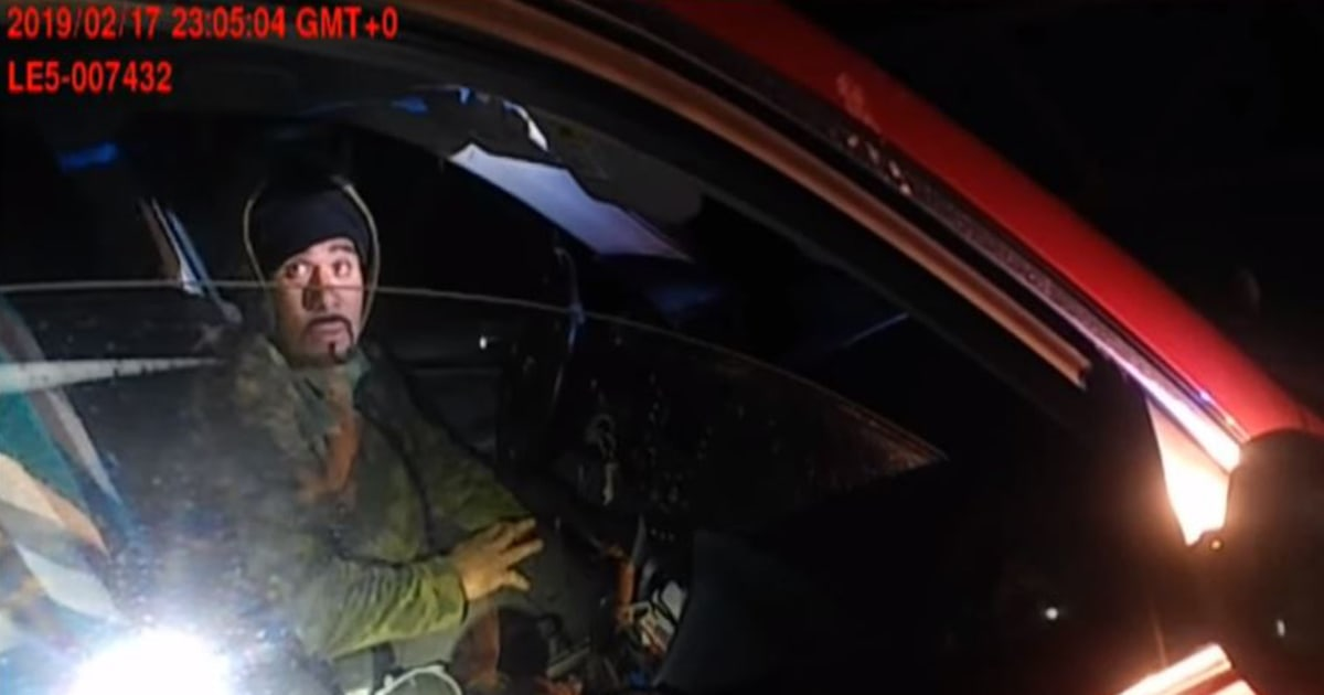 Police Bodycam Video Shows Moment Suspect Opens Fire On