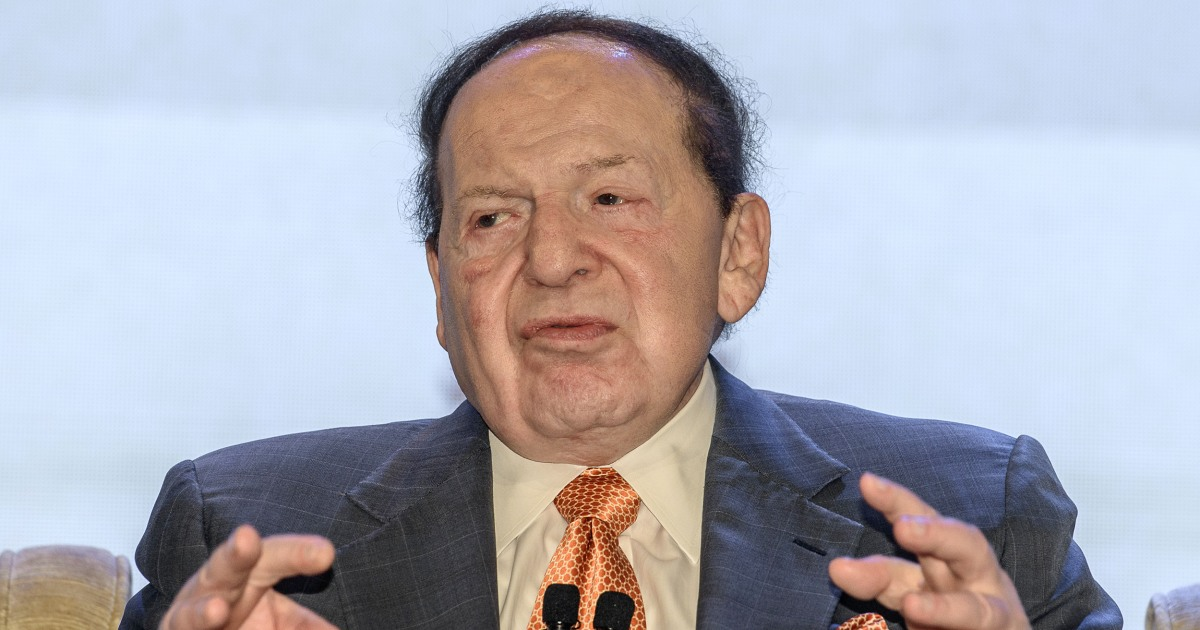 Sheldon Adelson, casino mogul and major GOP donor, in dire ...
