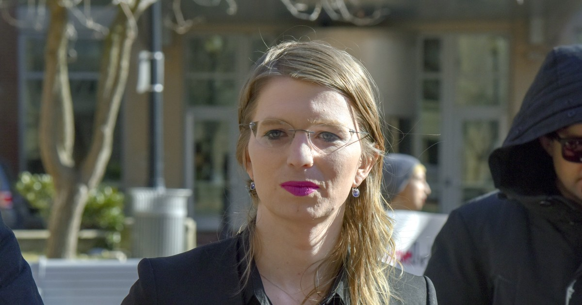 Chelsea Manning jailed for refusing to testify before grand jury in Virginia