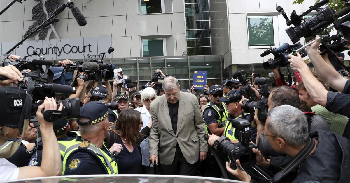 Australien Gerichtshof Kardinal Pell chance, um den Missbrauch überzeugungen umgeworfen
