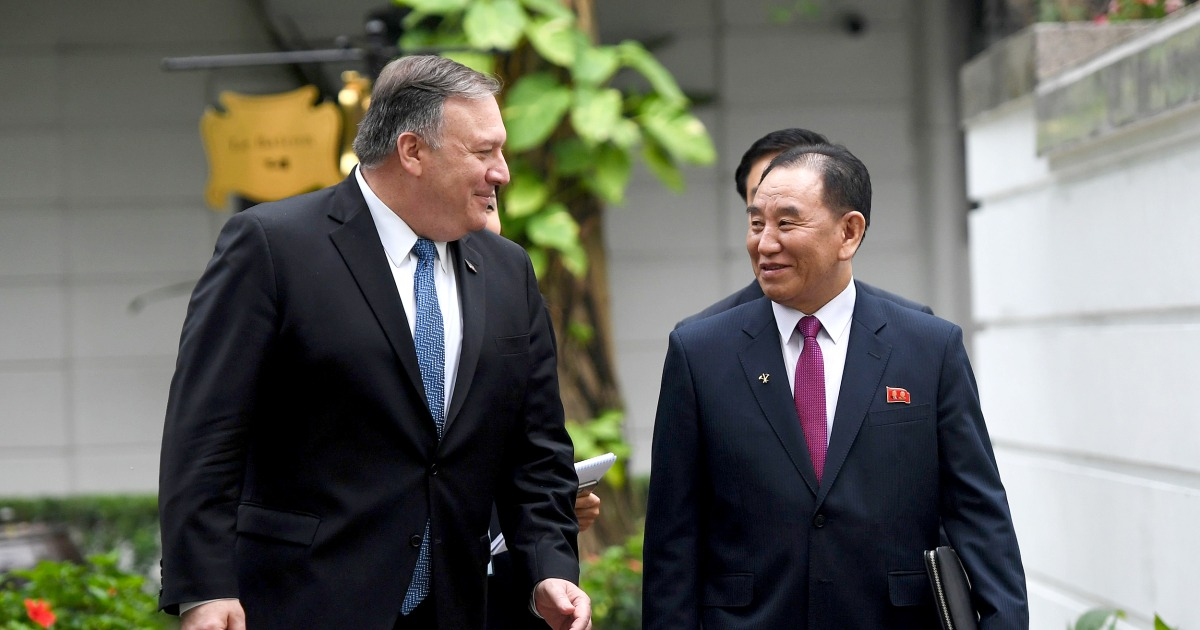 Pompeo says he remains hopeful about North Korea denuclearization talks