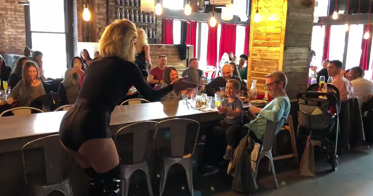 Drag queen performs 'Baby Shark' at toddler's request, and Twitter applauds
